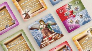 "Dječje anđeoske karte ""Volim anđele - anđeli vole mene"""